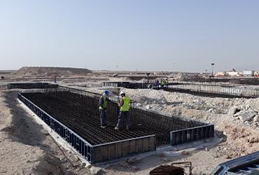 Asistencia topográfica en obra – Abu Dhabi